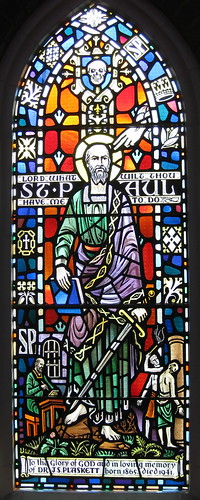 St. Paul, Writer of much of the New Testament.
