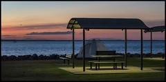 Deception Bay at Sunset-2=