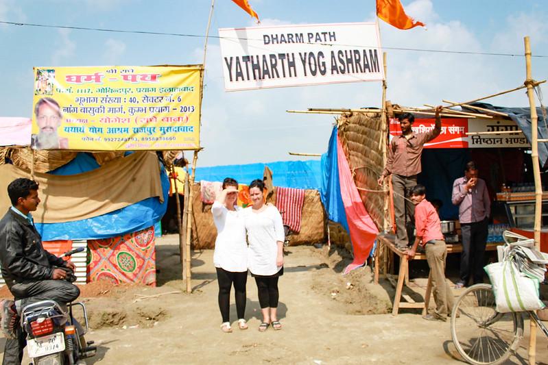 Ashram in India