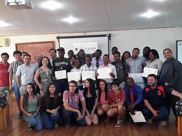 Alfabetización digital para Haitianos 2017.
