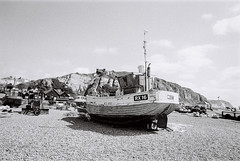 RX16 On Hastings Beach