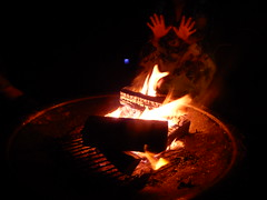 hands and the fire