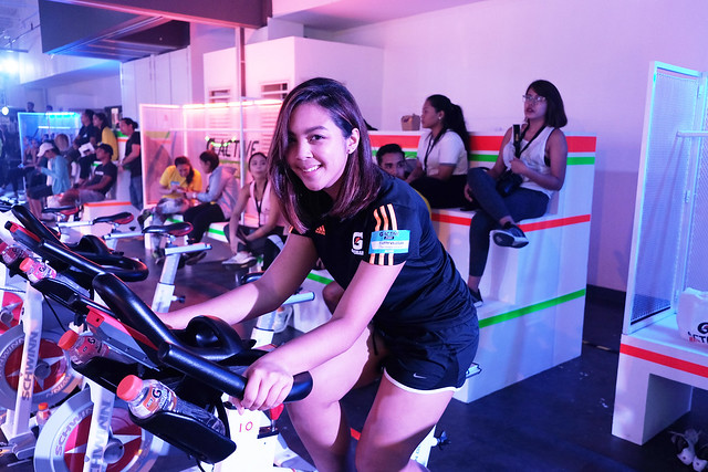 Patty Villegas - G Active - Studio - Isabelle Daza - Raymond Guttierez - Ride Revolution - Arnolds Army - Gatorade -5