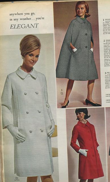 Spiegel catalog 1966 - women's coats   Flickr - Photo Sharing!