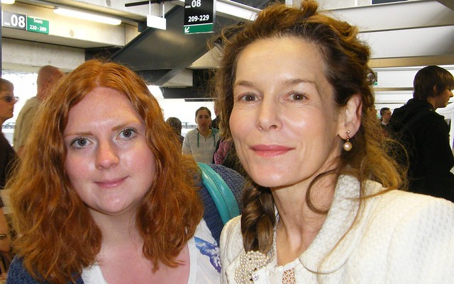 Alice Krige and Helen Mairs