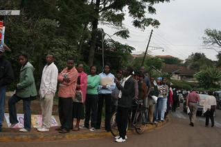 Westlands Primary-Line to Vote X