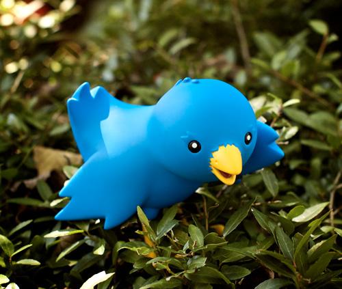Twitter Bird Toy
