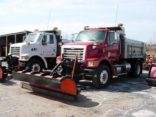Macedonia, Ohio Service Dept. Snow Plows | Flickr - Photo ...