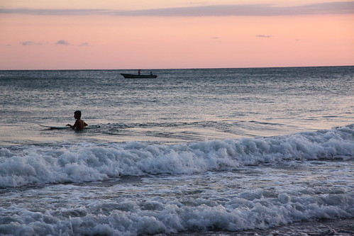 sunset sea beach costarica samarabeach
