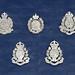 British Colonial Hong Kong Police Cap Badges (1947 - 1971) by Chris ^.^y