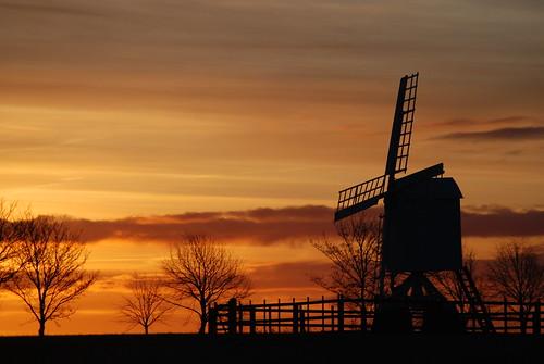 windmill sunrise flickriver
