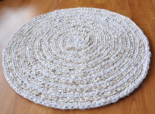 Sandy Beach Crochet Rug