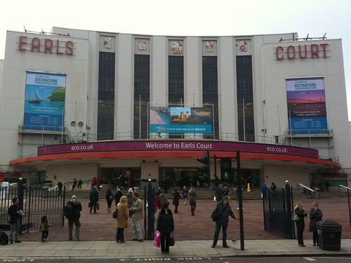 Earls Court Exhibition Centre London: The Times ...