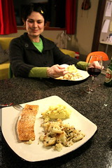 without preparation, rachel made an amazing dinner o…