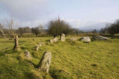 Castleruddery stone circle, kildare, Ireland