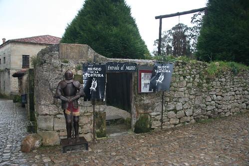 Museo de la tortura. Santillana