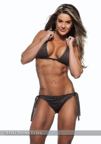 Top Fitness Model Diana Chaloux