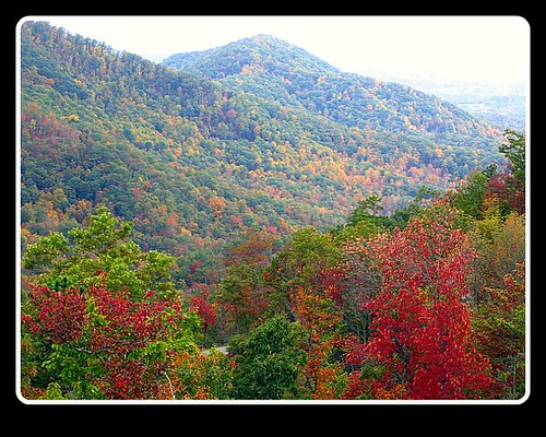mountains fallcolors franklinnc