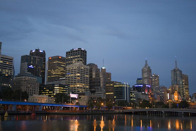 Melbourne Jan 2010