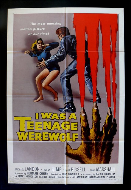 teenagewerewolf_poster