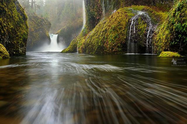 Punchbowl Falls, Eagle Creek Oregon...