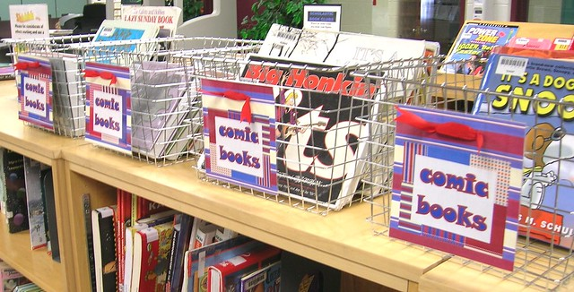 Comic Books Baskets from Flickr via Wylio