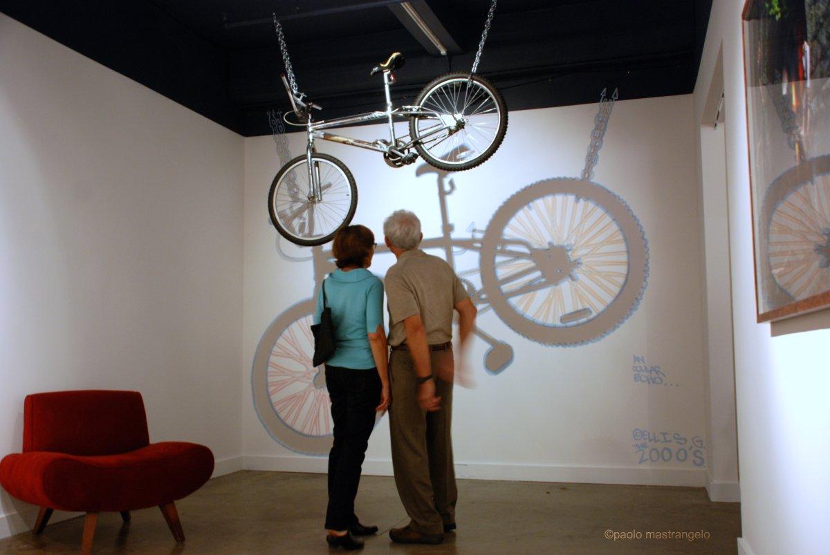 Ellis G. installation by Paolo Mastrangelo