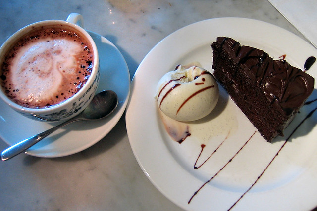 London Chocolate Cake