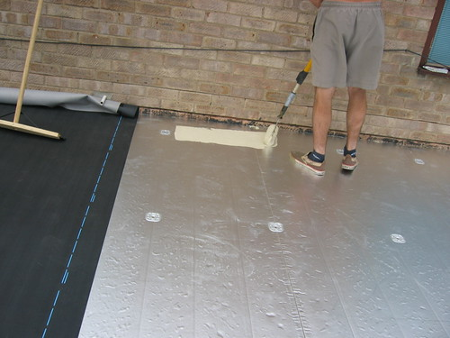 rubberbond over insulation