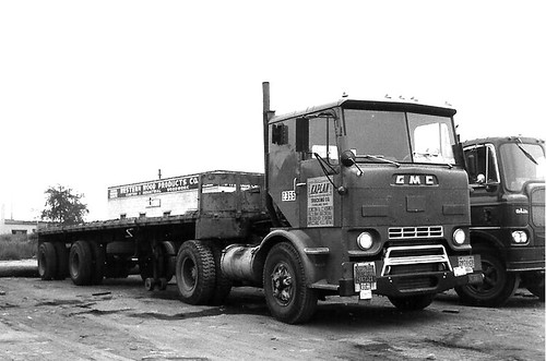 1950 Gmc Cabover Truck All Stock