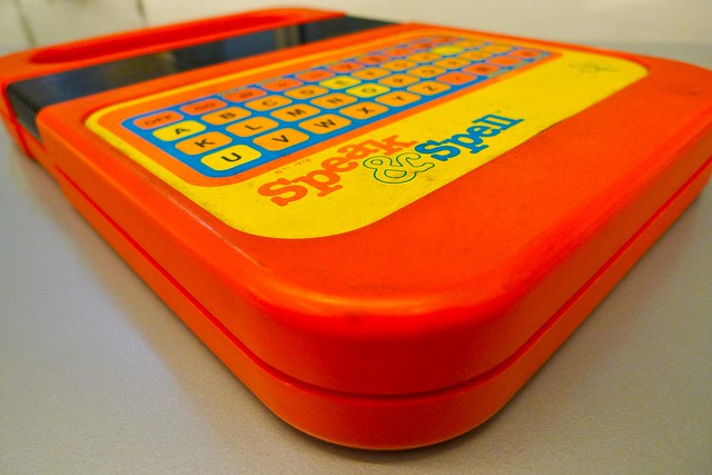 Speak & Spell from Flickr via Wylio