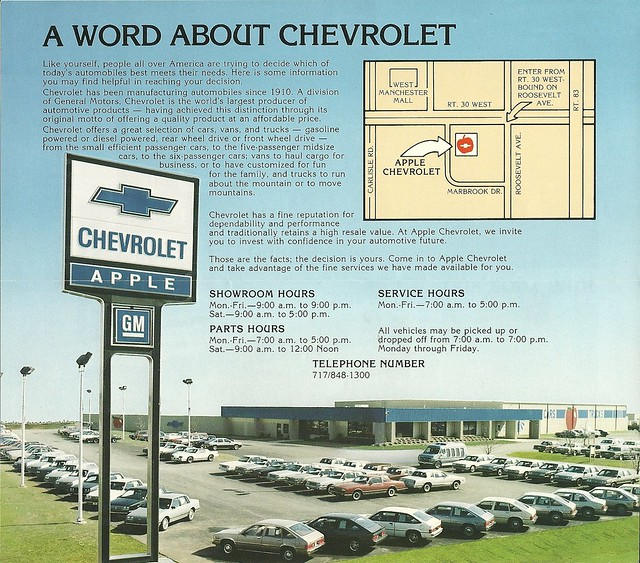 apple chevrolet us 30 york pennsylvania flickr photo sharing. Cars Review. Best American Auto & Cars Review