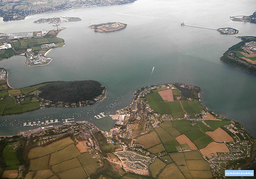 Cork Harbour, aerial photograph