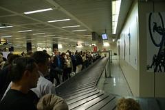Kofferband Fiumicino Airport