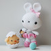 Amigurumi Easter Bunny and Chick by Pepika
