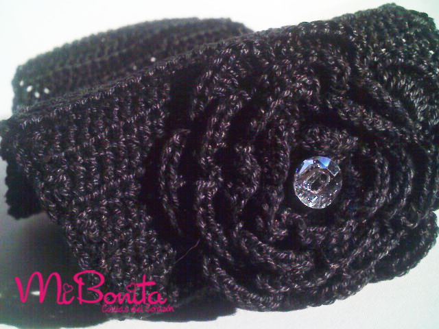 Balaca crochet negro | Flickr - Photo Sharing!