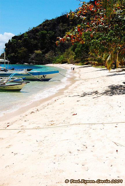 Beach on Sangat Island