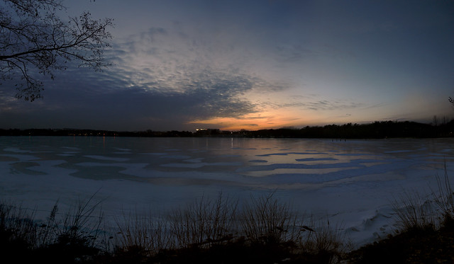 Lake Quannapowitt, Wakefield, MA (February 2, 2010)