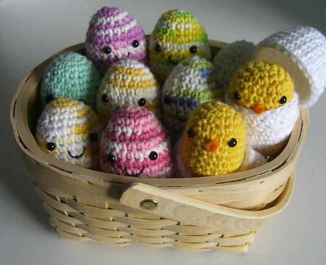 Amigurumi Easter Egg : Easter eggs - amigurumi style Flickr - Photo Sharing!