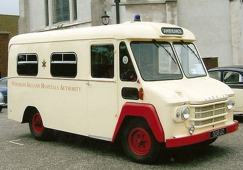 KARRIER AMBULANCE USED IN BELFAST in the 70s