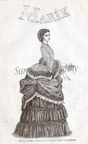 Marie Victorian Fashion 1871