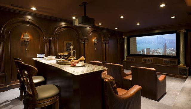 Luxury Home Theater Rooms: Luxury Entertainment Room