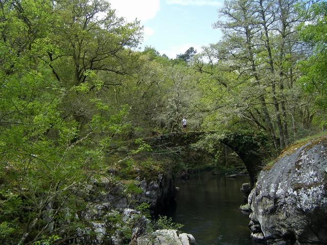 Ponte de Castro Cavadoso (rio abajo) por TeresalaLoba