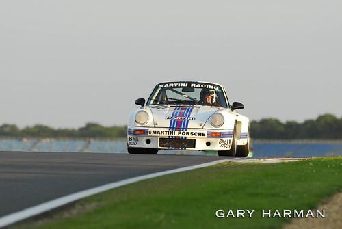Porsche 911 Martini Silverstone Classic 2008 by Gary Harman