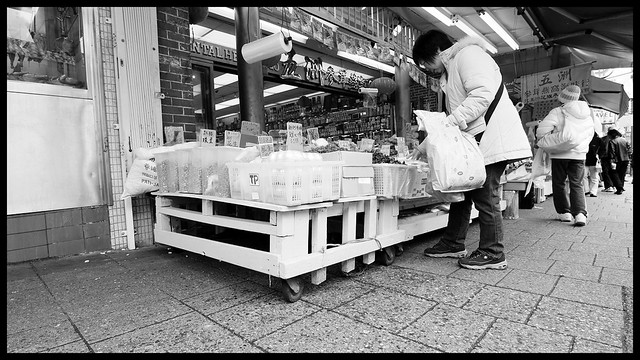 Shopping on East Pender, Chinatown