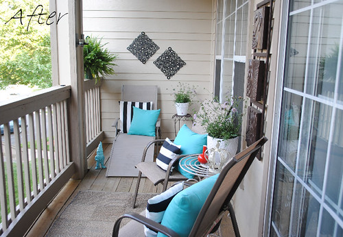 Six eighty eight balcony inspiration my makeover for Balcony makeover