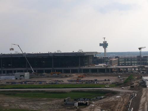 Richtfest BBI-Terminal