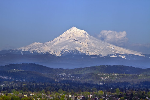 Mount Hood from Marquam Hill