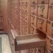 Small photo of Vestigial card catalog