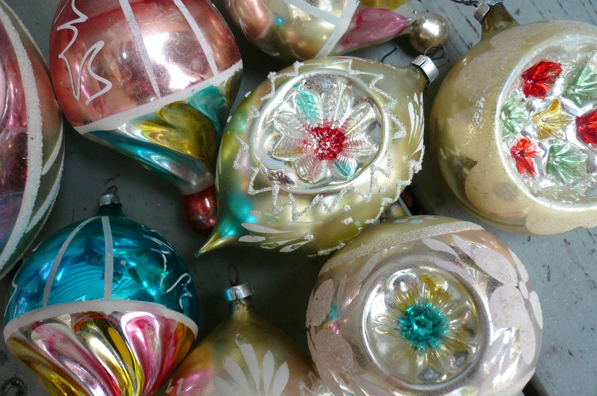 The echino ocean s holiday tree ornaments